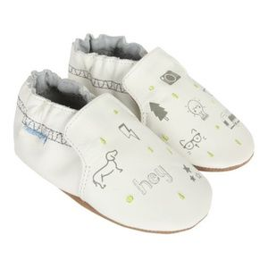 Infant Boy's Robeez Random Icon Soft Sole Shoes